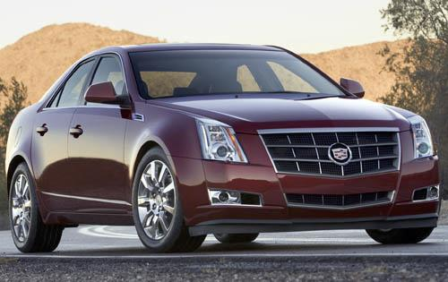2011 Cadillac CTS, Front Right Quarter View, manufacturer, exterior