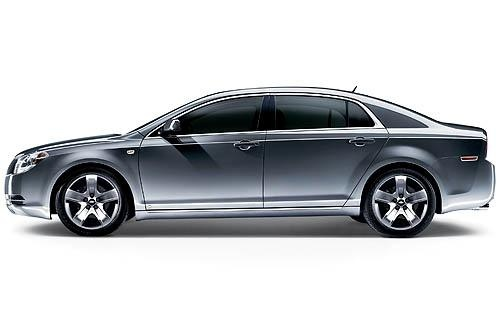 2011 Chevrolet Malibu, Left Side View, exterior, manufacturer
