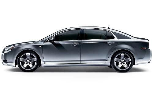 2011 Chevrolet Malibu, Left Side View, manufacturer, exterior