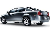 2011 Chevrolet Malibu, Back Left Quarter View, exterior, manufacturer