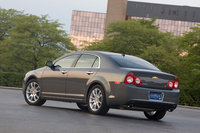 2011 Chevrolet Malibu, Back Left Quarter View, manufacturer, exterior