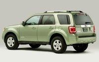 2011 Ford Escape Hybrid, Back Left Quarter View, exterior, manufacturer