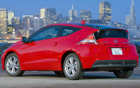 2011 Honda CR-Z, Back Left Quarter View, exterior, manufacturer