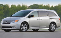 2011 Honda Odyssey, Front Left Quarter View, exterior, manufacturer, gallery_worthy