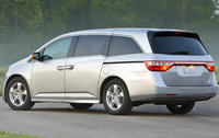 2011 Honda Odyssey, Back Left Quarter View, exterior, manufacturer