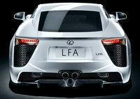 2011 Lexus LFA, Back View, exterior, manufacturer