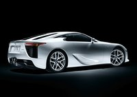 2011 Lexus LFA, Back Right Quarter View, exterior, manufacturer