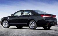 2011 Lincoln MKZ, Back Left Quarter View, exterior, manufacturer
