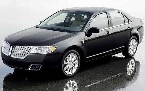 2011 Lincoln MKZ, Front Left Quarter View, exterior, manufacturer