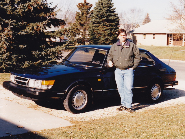 1986 Saab 900., exterior
