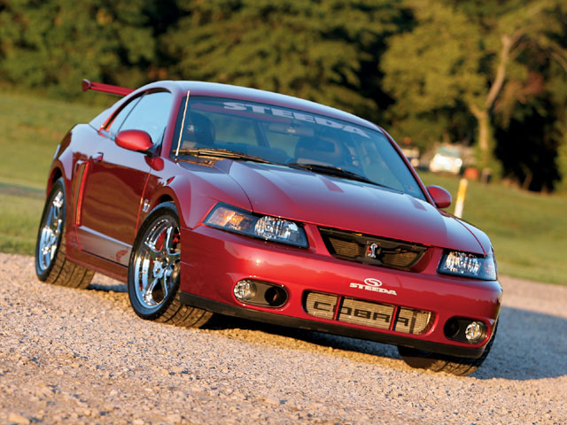 2003 Ford Mustang SVT Cobra 2 Dr 10th Anniversary Supercharged Convertible picture
