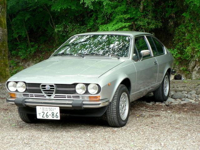 Alfa Romeo 1980 Alfetta GTV 2.0L