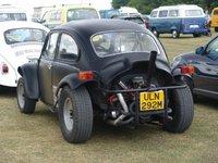 1974 Volkswagen Beetle, matte black, exterior
