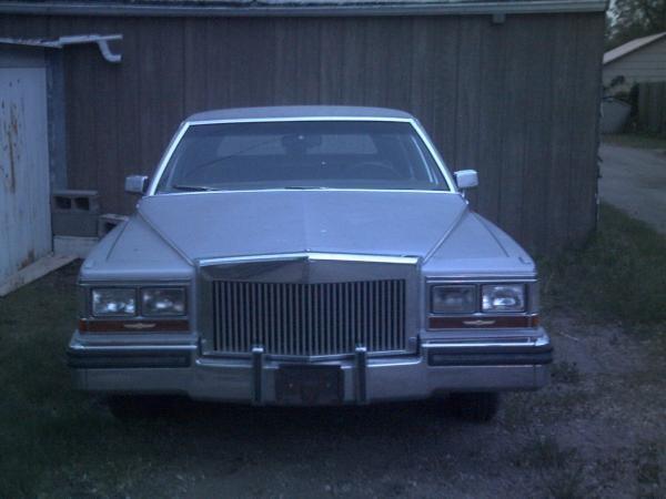 1985 Cadillac Brougham, 1985 caddilac fleetwook deville brougham , exterior