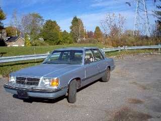 Picture of 1986 Dodge Aries, exterior