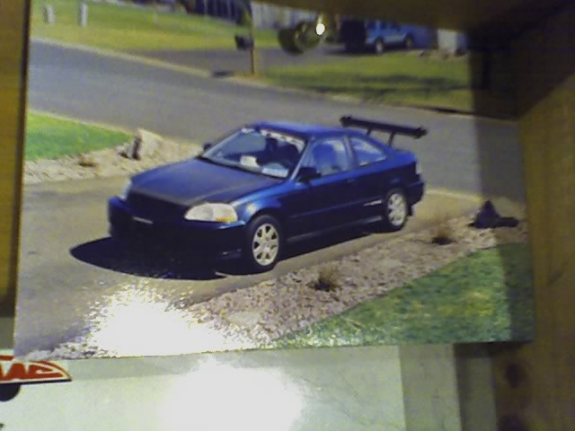 1997 Honda Civic EX Coupe, My suped up 1997 Honda Civic Ex with approx 165 horsepower. I could walk a Honda Civic Si. Carbon fiber hood, aluminum spoiler, Si rims, V-tech controller, 9.8 mm wires, fue...