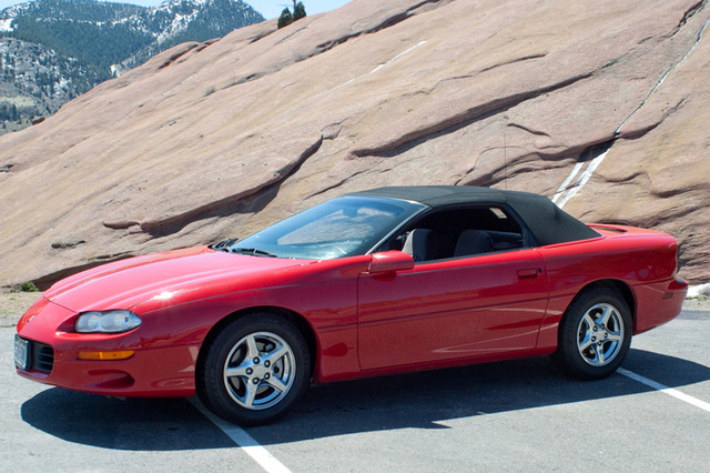 Picture of 2001 Chevrolet Camaro Convertible RWD, exterior, gallery_worthy