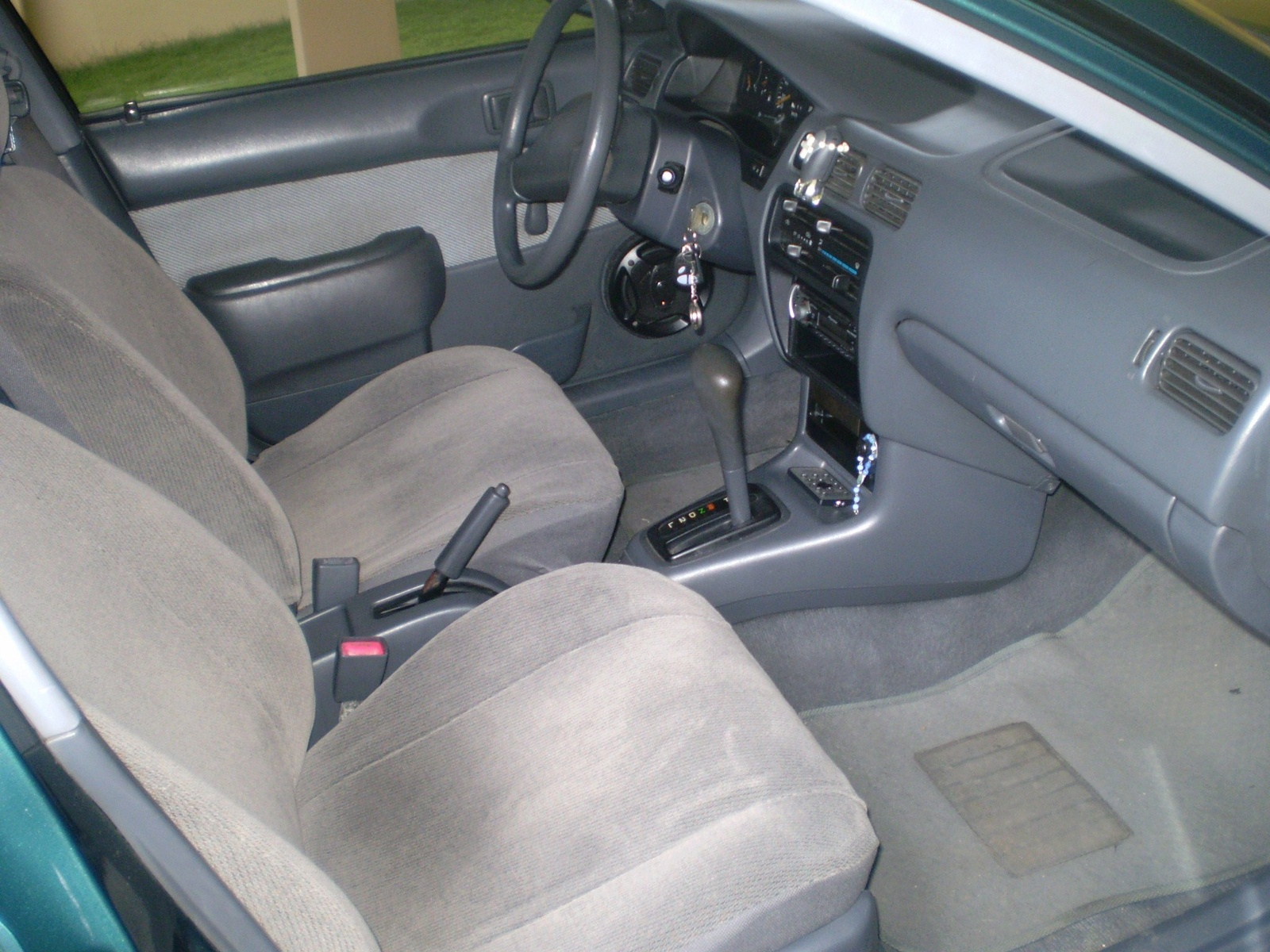 1996 Toyota Tercel 4 Dr DX Sedan picture, interior