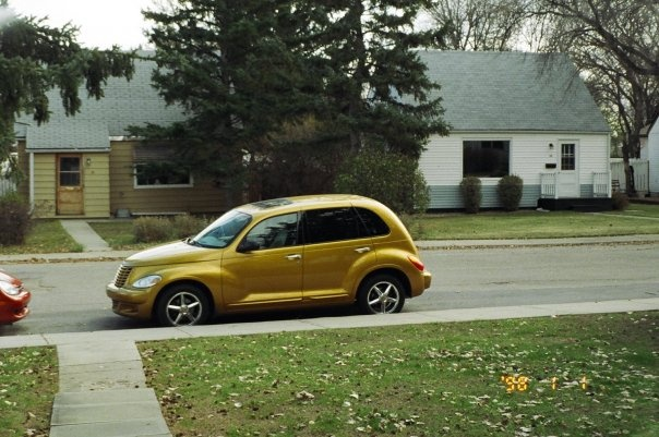 2002 Chrysler PT Cruiser DreamCruiser, Was my winter car 02 Pt Cruser, exterior