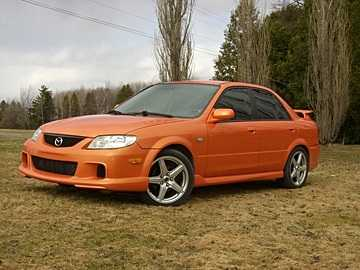 2003 Mazda MAZDASPEED Protege 4 Dr Turbo Sedan (2003.5) picture