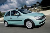 2002 Vauxhall Corsa, Library Photo., exterior