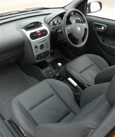 2002 Vauxhall Corsa, Library Photo., interior