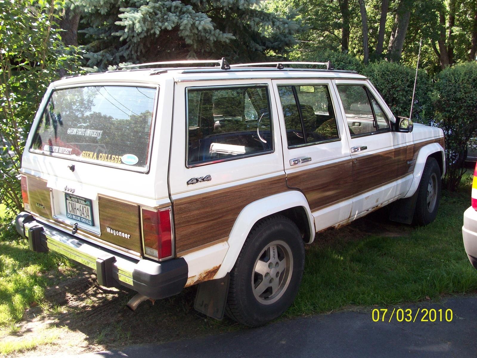 1988 jeep wagoneer overview cargurus. Black Bedroom Furniture Sets. Home Design Ideas
