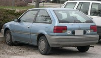 1988 Mercury Tracer Overview