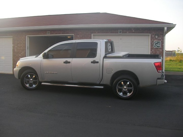 Picture of 2009 Nissan Titan LE Crew Cab, exterior, gallery_worthy
