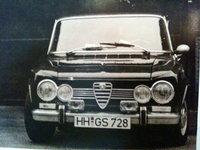 1970 Alfa Romeo Giulia Overview