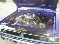 1970 Dodge Dart, Supercharged!, engine