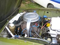 Picture of 1972 Saab 96, engine