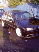 1995 Peugeot 306, wheels sprayed up and bumper sprayed up nicely :D, exterior
