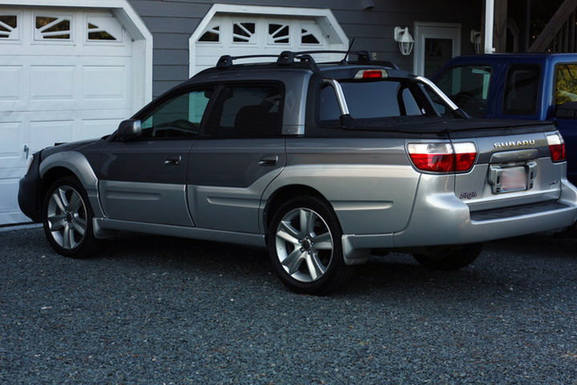 "2005 Subaru Baja Turbo with 17"" OEM Rims ....., exterior, gallery_worthy"