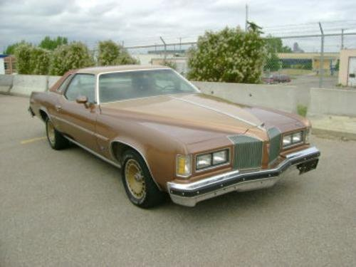 1975 Pontiac Grand-Prix , 455 stage 1 , 400 turbo , 3000 High Stall , GM 10.5 , 3.73 , 8 track , electric window , Leather seat , value; 4.8K , traded for tool box August 2008