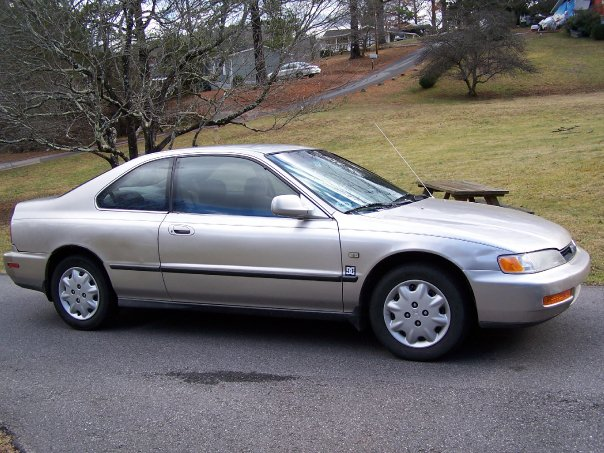 1996 Honda Accord LX Coupe, Looking and Running Good, exterior