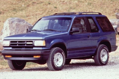 1991 Mazda Navajo 2 Dr STD 4WD SUV, Stock picture, the same color as the one my dad used to have, exterior