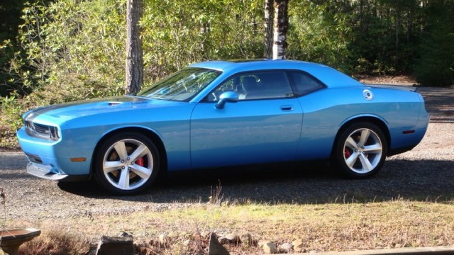 2010 Dodge Challenger SRT8 RWD, The newest toy. Thinking Blue Steel would be a good name for this one, exterior, gallery_worthy