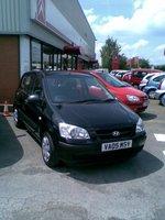 2005 Hyundai Getz, my new car, exterior