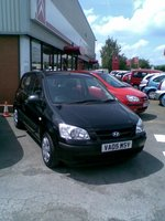 2005 Hyundai Getz, my new car, exterior