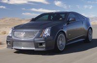 2011 Cadillac CTS-V Coupe Base, Copyright GM Corp., manufacturer, exterior