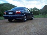 1998 Kia Sephia LS, 98' sephia, exterior