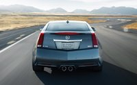 2011 Cadillac CTS-V Coupe, back view, exterior, manufacturer
