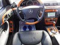 2003 Mercedes-Benz S-Class 4 Dr S430 4MATIC AWD Sedan, Nice feel to this seat, interior