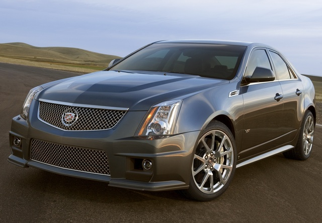 2011 Cadillac CTS-V, Copyright General Motors Corp., exterior, gallery_worthy