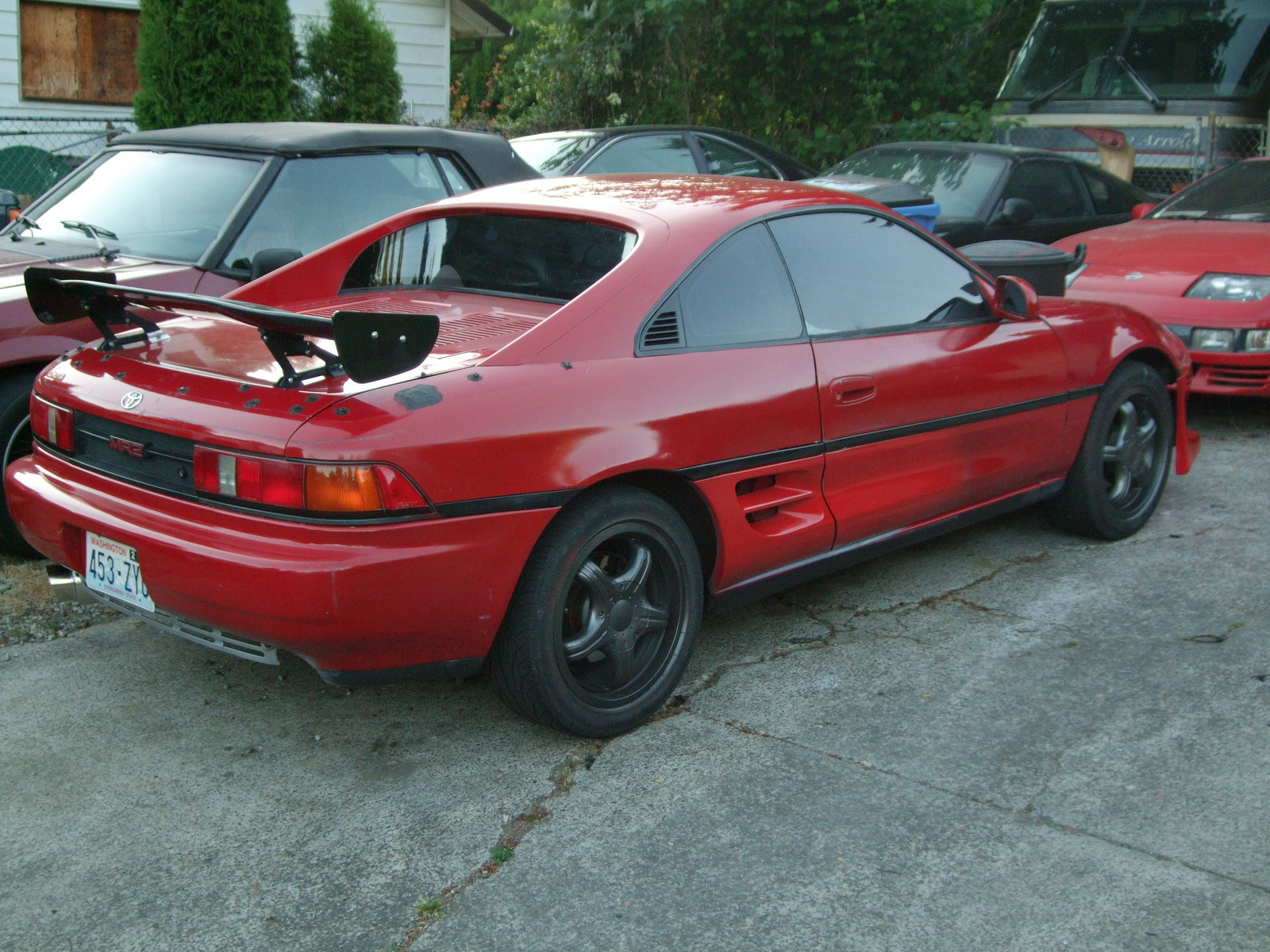 1991 Toyota MR2 2 Dr STD Coupe picture, exterior
