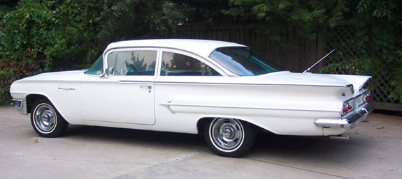 1960 Chevrolet Impala, Picture of 1960 Chevy Impala, exterior