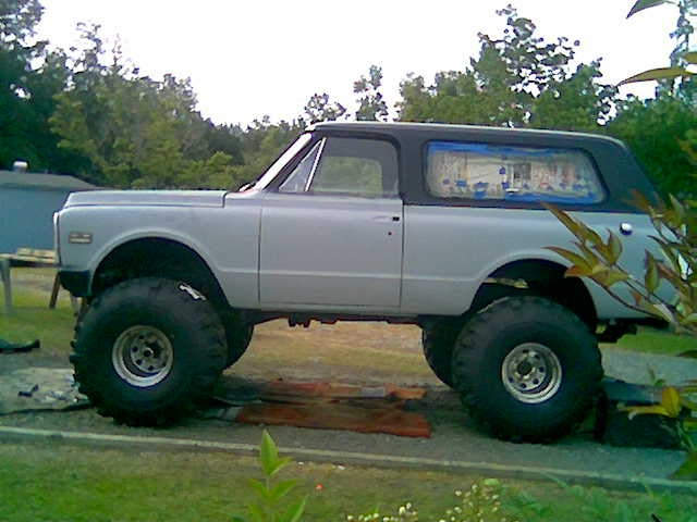 1972 Chevrolet Blazer, Picture of 1972 Blazer