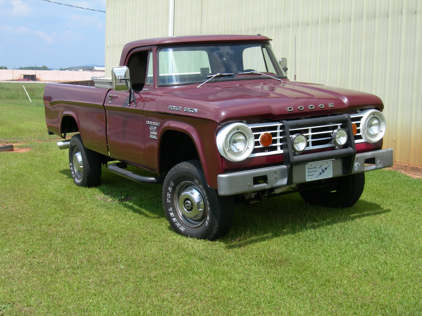 1967 Dodge Power Wagon Overview C6657 on 1956 dodge d200