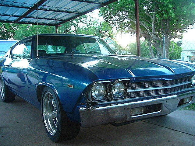 1969 Chevrolet Chevelle, this is my dads car, exterior